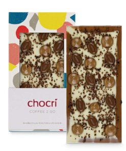"chocri Schokoladentafel ""Coffee 2 Go"""